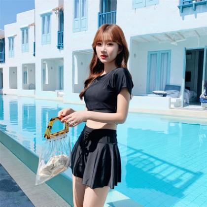Women Clothing Bikini  Split  Skirt Summer Swimsuit