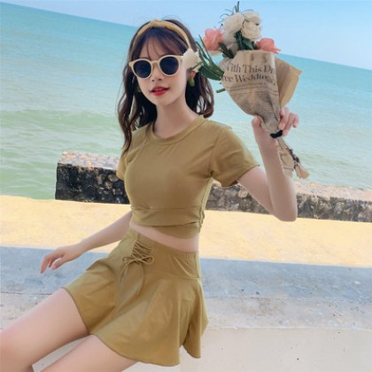 Women Clothing Bikini  Split  Skirt Summer Swimsuit