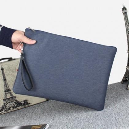 Men Casual Fashion Nylon Oxford Cloth Clutch Bag