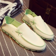 [PRE-ORDER] Men Casual Mixed Color Camp Mocs Loafers Shoes