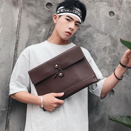 Men Casual Retro Document Clutch Bag
