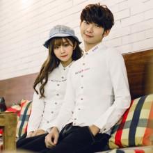 Men Couple Harajuku Style Long Sleeve T Shirts