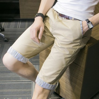 [READY STOCK]Men Casual Stripes Short Pants