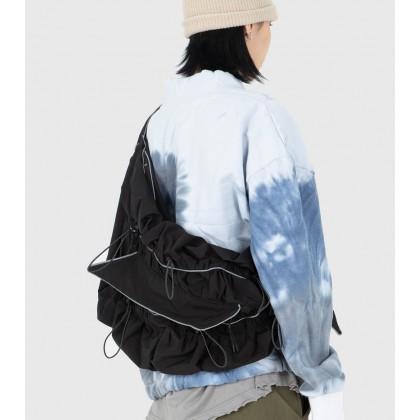 Men Fashion Trendy Dumplings Shoulder Bag