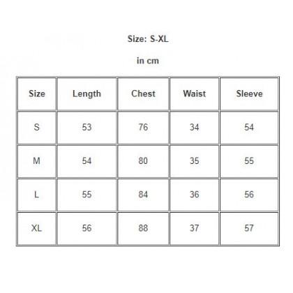Women Clothing Long-sleeved All-match V-neck Shirt