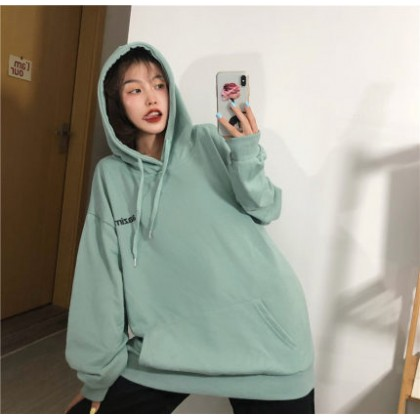Women Clothing Loose Korean Style Lazy Jacket Sweater