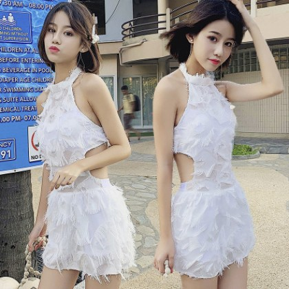 Women Clothing Super Fairy Sexy Slimming Belly Swimsuit