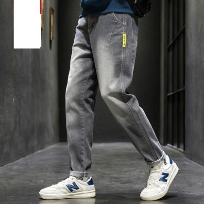 Men Clothing Casual Wide-leg Loose Fashion Denim Pants