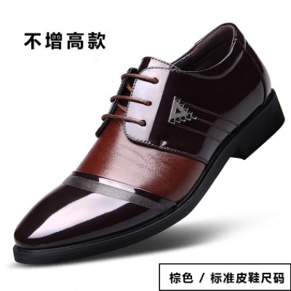 [READY STOCK] Men Business Office Working PU Leather Shoes
