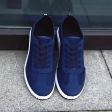 [PRE-ORDER] Men Pure Color Simple Design Outing Canvas Shoes