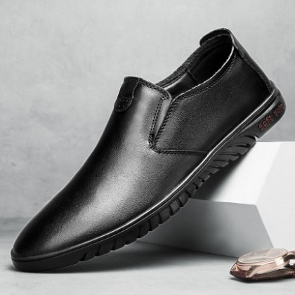 Men British Casual Soft Sole Formal Shoes