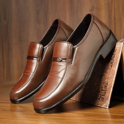Men British Casual Soft Sole Business Formal Shoes