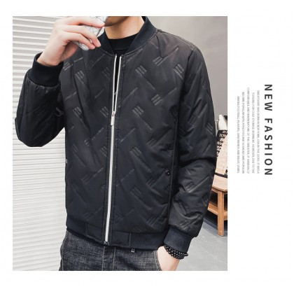 Men Clothing Autumn and Winter Cotton-padded Jacket