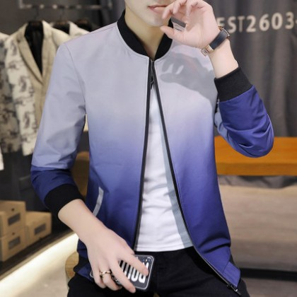 Men Clothing Casual Baseball Wear Thin Tops Trendy Jackets