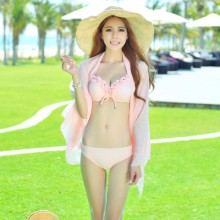 [READY STOCK] Women Three Pieces Bikini Swimsuit Set