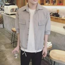 [PRE-ORDER] Men Japanese Style Shirts Long Sleeve Jacket