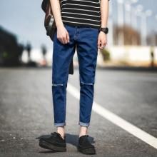 [PRE-ORDER] Men Korean Slim Casual Long Pants Jeans