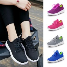 [PRE-ORDER] Women Non-Slippery Lace Running Sport Shoes