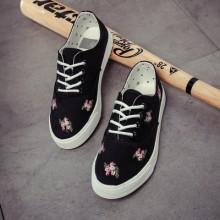 [PRE-ORDER] Women Flora Flower Canvas Casual Sport Shoes