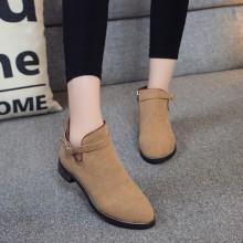[PRE-ORDER] Women EU Retro Style Classic PU Martin Boots
