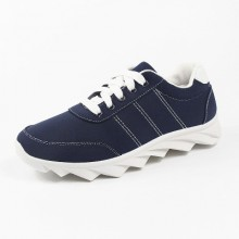 [PRE-ORDER] Men Lace Canvas Denim Running Sport Shoes