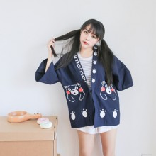 [PRE-ORDER] Women Japanese Bear Kimono Jacket