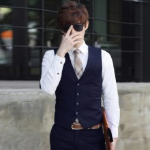 [READY STOCK / PRE-ORDER] Men England Formal Jacket Suits Vest