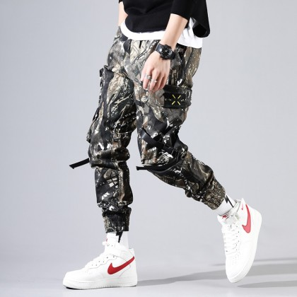 Men Clothing Spring and Summer Camouflage Outdoor Tactical Pants