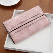 [PRE-ORDER] Women Two Flips Scrubs Clutch Long Wallet