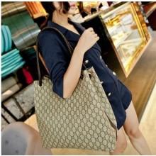 [PRE-ORDER] Women Big Volume Weaved Printing Shoulder Bag