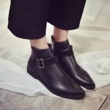 [PRE-ORDER] Women England Martin Belt Zipped Boots