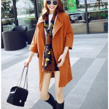 [PRE-ORDER] Women England Suit Coat WindBreaker Long Jacket
