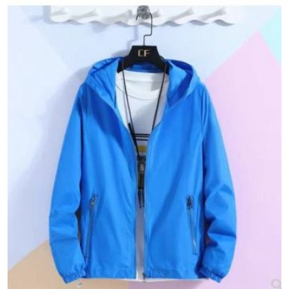 Men Clothing Unisex Ultra-Thin Breathable Sport Jacket