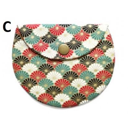 Women Bags Japanese Inspired Fabric Mini Coin Purse