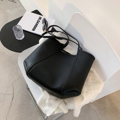 Women Bags Soft Surface Large Capacity Shoulder Tote Bag