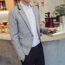 [PRE-ORDER] Men Grey Office Formal Jacket Suit Coat Blazer