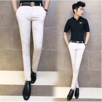 Men Office Working Formal Suits Pants