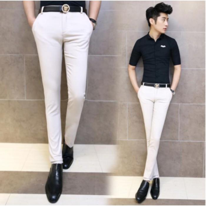 Men Office Working Formal Suits Pants