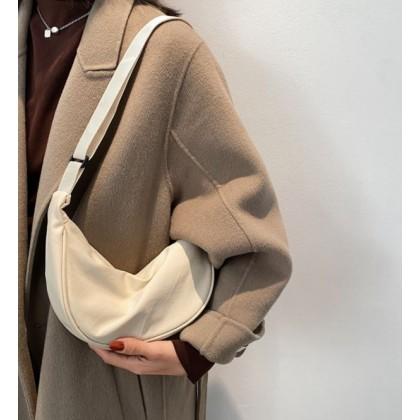 Women Bags Nylon Lightweight Dumpling Shoulder Bag