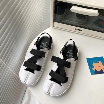 Women Fashion Half Closed Roman Sandals Flat-soled