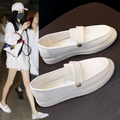 Women Fashion Breathable New Wild Lazy Pedal Flat Shoes