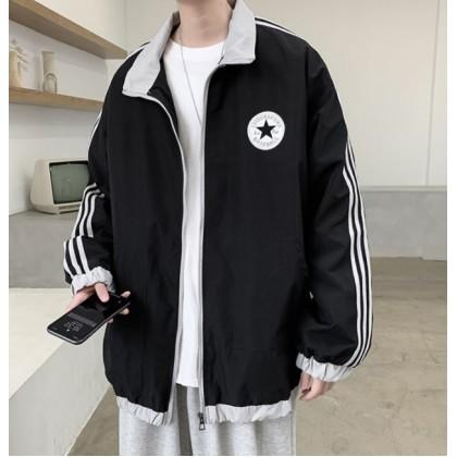 Men Clothing Baseball Uniform Thin Coat  Student Jacket