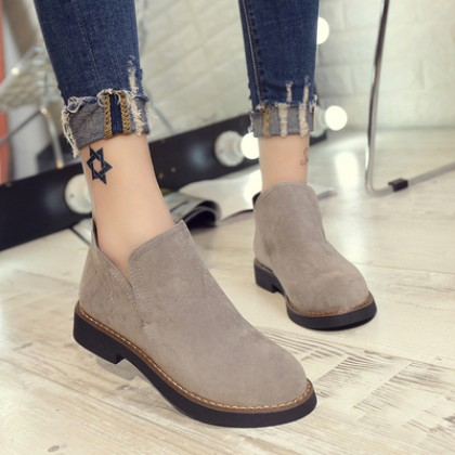 [READY STOCK] Women England Classic Martin Flat Boots