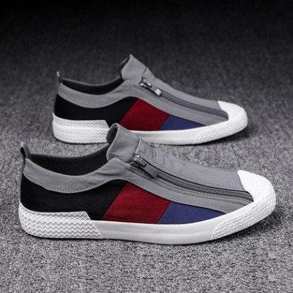 Men Fashion Old Beijing Cloth Breathable Casual Lazy Canvas