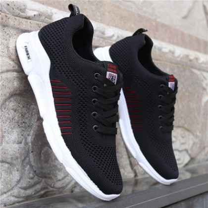 Men Fashion Breathable Running Lightweight Casual Shoes