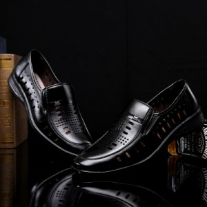 [READY STOCK] Men Formal Business Office PU Leather Shoes