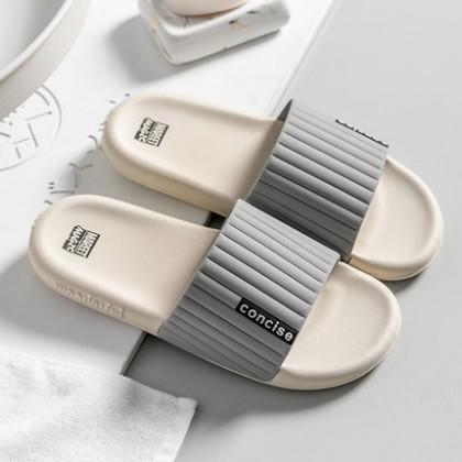 Men Fashion Home Non-slip Bathroom Slippers Soft Bottom Wear Sandals