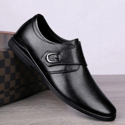Men Fashion Summer Leather British Business Casual Shoes