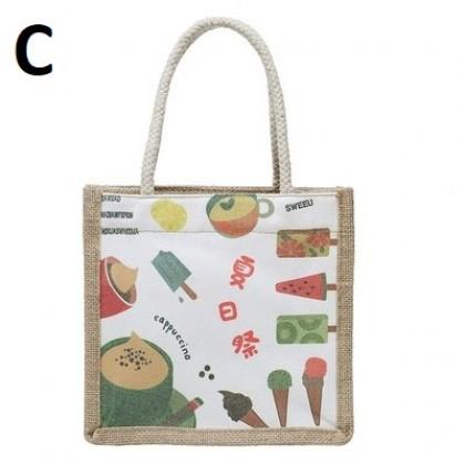 Women Bags Shoulder Tote Bag Japanese Cartoon Simple Large-capacity