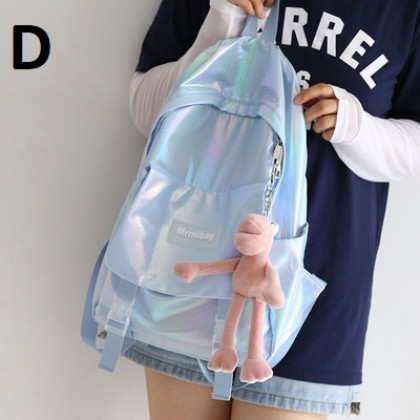 Women Bags Pearlescent Lightweight Waterproof Backpack